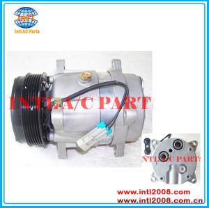 964059380 1135464 1135512 1135463 6453HC 6453JW 1135253 Delphi V5 auto ac compressor Peugeot 406/Citroen Xantia/C5 /Fiat Ducato 2.0 8V China factory