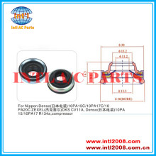 Shaft Seal use for nippon denso compressor , denso 17c/10pa20c 10pa15c/10pa DKS CV 11a Denso 10pa15/10pa17 lip oil seal
