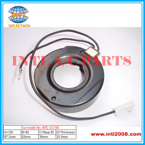 Compressor Coil size 87.2*62*25.9*39mm used for auto air conditioner compressor clutch, China manufacture