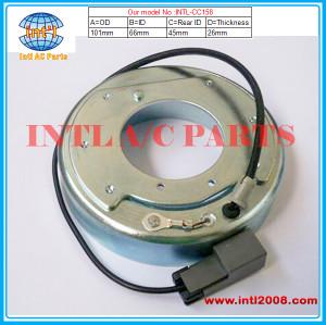 clutch coil size :101*66*26*45mm for Auto ac compressor  China manufacture