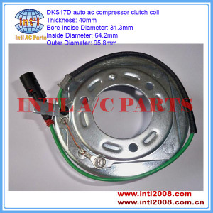 China supply clutch coil DKS17D auto ac compressor Clutch Coils item 95.8mm*64.2mm*31.3mm*40mm