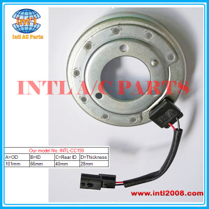 101mm*66mm*28mm*40mm auto air conditioner manufacturer AC compressor clutch coil