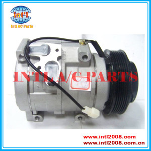 Make in China Denso 10S17C AUTO A/C COMP Ford FALCON BARRA V8 BA BAII BF BFII 10S17C 6pk COMPRESSOR 447220 4550
