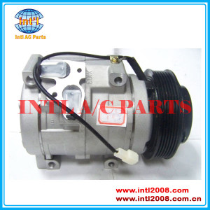 Make in China Denso 10S17C AUTO A/C COMP Ford FALCON BARRA V8 BA BAII BF BFII 10S17C 6pk COMPRESSOR 447220 4550