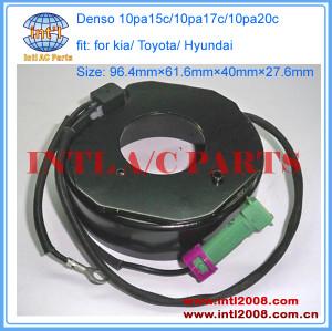 Denso 10pa15c/10pa17c/10pa20c 10pa15/10pa17/10pa20 a/c compressor magnetic clutch coil fit for kia/ Toyota/ Hyundai