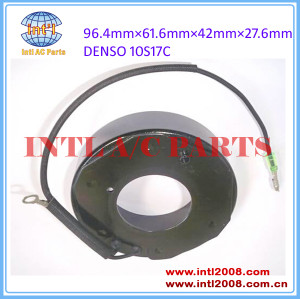 12V denso 10S17/10S17C air conditioning compressor clutch coil 96.4x61.6x42x27.6mm