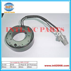 clutch coil size 80*55.2*25*40mm auto air conditioner manufacturer AC compressor