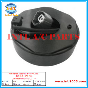 For Honda Accord Odyssey Acura DENSO 10PA17C compressor coil size :96.4*61.6*40*27.6MM