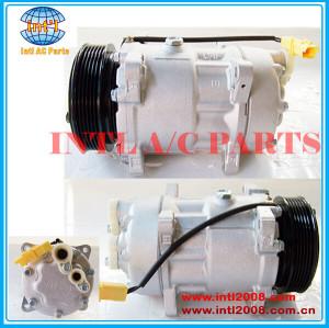 China factory Sanden 7V16 6453LX 6453JN 6453LR 9646416780 1240 1228F 1805 1268 auto ac compressor for Citroen/Fiat/Lancia/Peugeot