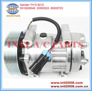 China factory Sanden SD7H15-8215 ac compressor RENAULT V.I/ VOLVO V.I. TRUCKS FE 2006- 85000723 20593523 5010628046