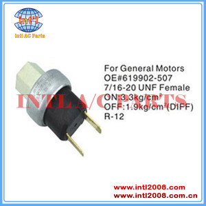 Auto air conditioning Pressure Switch pressure Sensor For GM 619902-507 619902507