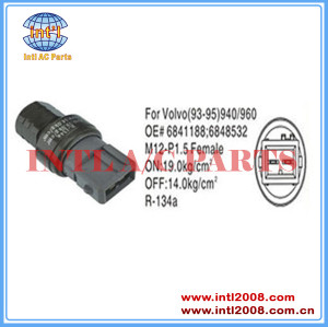 Auto Air conditioning Pressure Switch Pressostato pressure Sensor For VOLVO 940 960 6848532 68 41188 6841188
