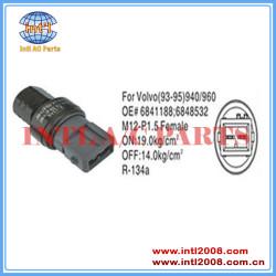 Auto Air conditioning Pressure Switch Pressostato pressure Sensor For VOLVO 940 960 6848532 68 41188 6841188