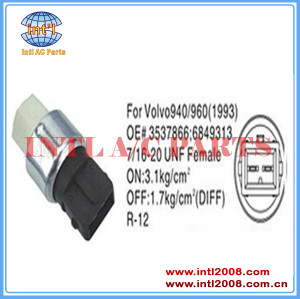 Auto air conditioning Pressure Switch pressure sensor for Volvo 940/960 (1993) 850 1343216 9144340