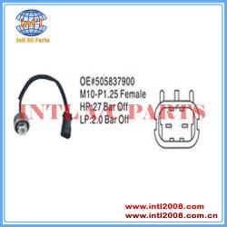 Auto air conditioning pressure sensor Pressure Switch 505837900