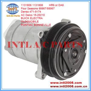 China supplier 4 Seasons 57867 HR6 auto/car air ac compressor for Buick electra Oldsmobile Pontiac 15-20210 1131806 6511360 471-9174 CS0129