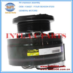R4 compressor 1134327 88964862 88964871 Four Seasons 57233 57735 58948 A/C AC Compressor Cadillac Commercial Chassis /Fleetwood 5.7L 1993