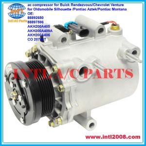 88892650 88897596 ac compressor for Buick Rendezvous/Chevrolet Venture/Oldsmobile Silhouette /Pontiac Aztek/Pontiac Montana 6pk