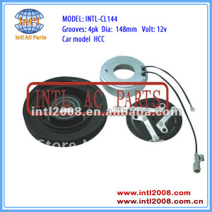 auto a/c compressor clutch for HCC 4PK 148mm 12V