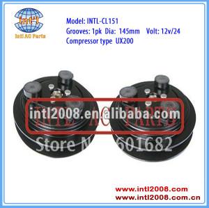 auto air conditioning a/c compressor clutch for UX200 1B 145mm 12V/24V