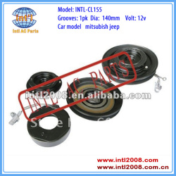 auto air conditioning ac compressor clutch pulley for 10P17C Mitsubishi Jeep 1A 140mm 12V