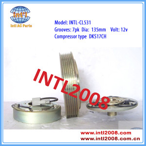 Zexel DKS17CH ac compressor magnetic clutch for Nissan / Patrol GRII ( Y61) 7pk 506011-9141 5060119141 92600VB800 car ac clutch