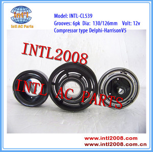 1854094 for Delphi-Harrison V5 auto AC Compressor magnetic clutch assembly for OPEL/VAUXHALL/COMBO/TIGRA 6pk pulley