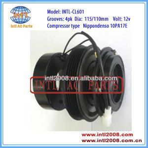 10PA17E PV4 A/C Compressor clutch assembly (ASSY) Toyota Previa 1993-20008 8320-28160 88320-28200 8832028160 8832028200
