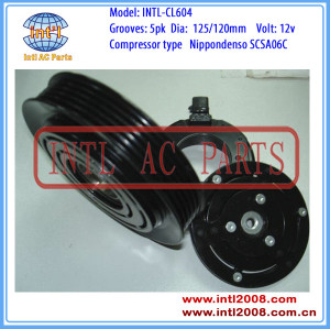 A/C Compressor clutch assembly (ASSY) SCSA06C Toyota Yaris Fiat Palio Punto 88310-52400 88310-52401 4675168 4675168 80100226