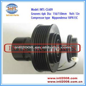 DENSO 10PA15C PV6/6PK ac a/c clutch set for toyota corolla 1.8L 1998-2002 15-21295 77320 88320-02050 8832002050