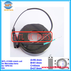DENSO 10PA15C 10PA17C 10PA20C auto a/c ac compressor clutch coil for MERCEDES BENZ TRUCK/M.BENZ ACTROS