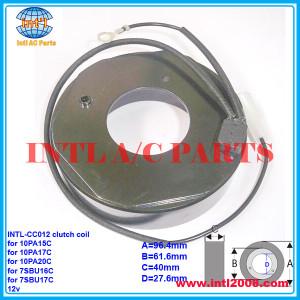 auto a/c compressor clutch coil for Denso 10PA15C/10PA17C/10PA20C/7SBU16C/7SBU17C