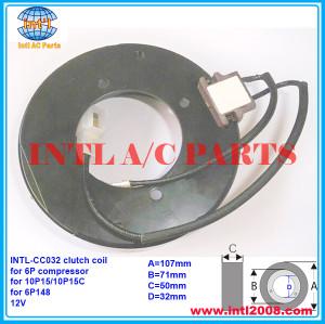 auto ac compressor clutch coil for DENSO 6P/10P15C/10P15/6P148