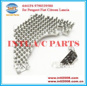 China factory Blower Motor Regulator apply for Peugeot Fiat Citroen Lancia 6441.F6 9790339580 5HL351321-221 9140010335 fan Motor Resistor