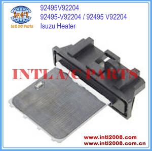 China manufacturer auto air con heater Isuzu high quality Blower Motor Resistor Control Module Regulator 92495V92204 92495-V92204 92495 V92204