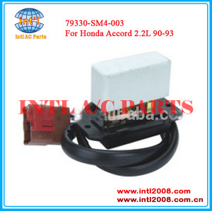 China factory HVAC Air Conditioning Heating Blower Motor Resistor For Honda Accord 2.2L 90-93 Controls Blower Motor 79330SM4003 79330SM-4003