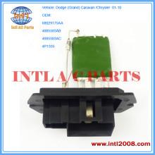 china GRAND CARAVAN radiator fan resistor manufacturers