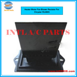 RU490S Auto air Heater Motor Fan Blower Resistor For Chrysler RU490S RU490S RU490S