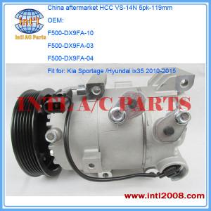 ac pump/compressor Kia Sportage /Hyundai ix35 1.7 CRDi 2.0 1.6 2010-2015 DX9FA-04 DX9FA-10 DX9FA-03 F500-DX9FA-10 China Guangzhou supplier/factory