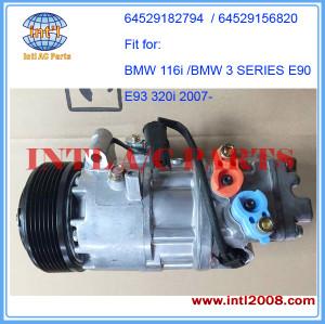 Klimakompressor for BMW E81/ E90 E93 116i 320i /for BMW N43 AC Compressor 64529182794 64529156820 A41011B10001