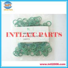 universal oring o-ring Green/black/Purple/NBR75GREEN R134A