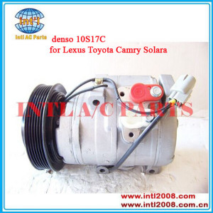 Four Seasons 77390 auto air compressor denso 10S17C for Lexus Toyota Camry Solara ac compressor 447220-4293 88320-07040 China factory