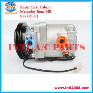 China factory SS72DLG1 air compressor SS72 DL G1 for Mercedes Benz Smart Ciry Cabrio 1602300111 A1602300011 A1602300111