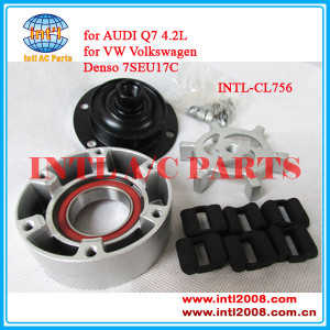 ac compressor clutch Denso 7SEU17C for VW Touareg/Audi S4 S6 A8 Q7 R8 S4 S5 4F0260805AH 447180-5632 4472209831, 8E0260805AA