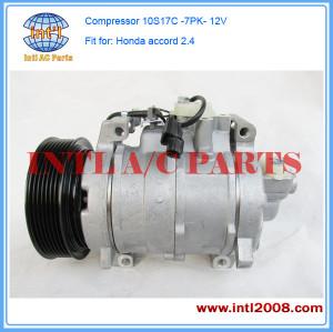 Auto air conditioning Compressor fit for 2008 2009 HONDA ACCORD 2.4L A/C AC Compressor
