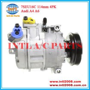 Denso auto ac compressor 7SEU16C for Audi A4 A6 8E0260805N 8E0260805M 8E0260805AB 8E0260805 4B0260805M 4B0260805K 4B0260805G
