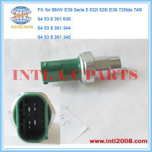 for BMW E39 Serie 5 532i 528i E38 725tds 740 A/C Safety Pressure Switch /sensor 64538391639 64 53 8 391 344 64 53 8 391 345