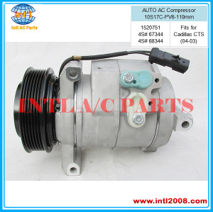 4S# 67344 / 68344 AUTO AC COMPRESSOR 10S17C fits for Cadillac CTS (04-03)