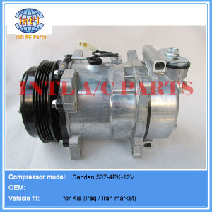 Compressor sanden 507 5S11 4PK FOR Kia (Iran /Iraq market)