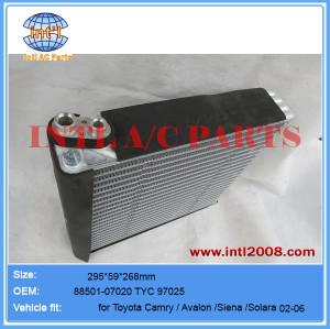 A/C Evaporator core 02-06 toyota camry 2.4 3.3 TYC 97025 8705008020 8705008040 8850107020